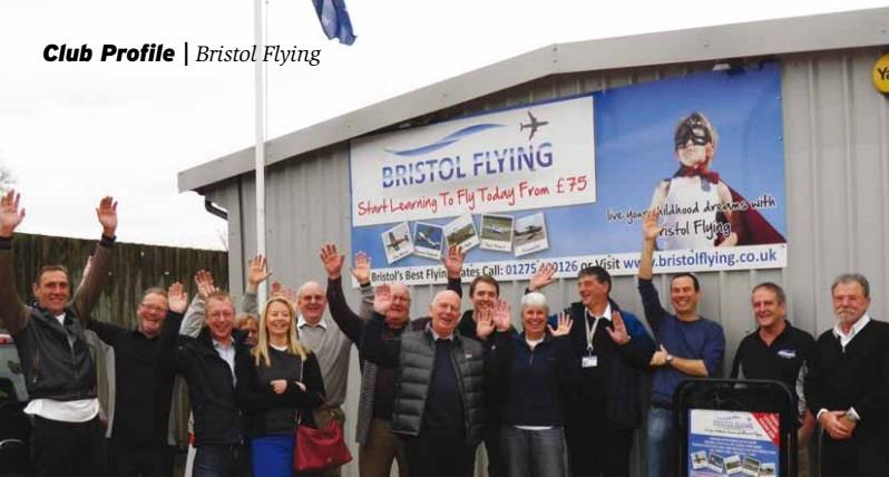 Bristol Flying Club Lessons Press Article